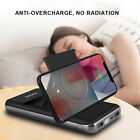 UK Qi Wireless Charger 20000mAh Power Bank 2USB Battery For Samsung S9+iPhone XS