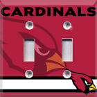 Football Arizona Cardinals Red Themed  Light Switch Cover Choose Your Cover on eBay