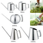 Stainless Steel Watering Can Garden Plant Flower Long Mouth Sprinkling Pot