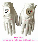 Womens Golf Gloves Pair Left and Right Hand Rain Grip Wet Hot Ladies XS S M L XL