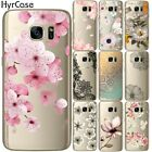 Sexy Floral Pattern Soft TPU Phone Back Case Cover For Samsung Galaxy S5 Mini S6
