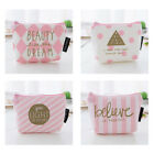 Cartoon Women Coin Purse Wallet ID Card Holder Pink Mini Small Change Bag Pouch image