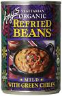 Amy's Organic Refried Beans, Mild with Green Chiles, 15.4 Ounce