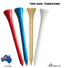 Golf Tees Wooden 100 Pack 70/83/54MM Professional RED/BLUE/WHITE/BURLYWOOD AU