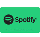 Spotify Gift Card 1,3 or 6 Month Subscription - Email Delivery