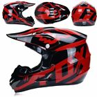 Motorcycle Motocross Off Road Helmet ATV Dirt Bike Downhill MTB Racing + 3 Gifts