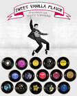 Elvis Presley Records wafer birthday Party cookie or cupcake Toppers Cup Cake