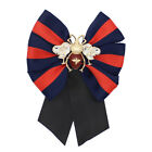Women Bow tie collar flower brooch clothing sweater brooch with accessories