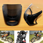 7''Headlight Retro Fairing Cover Windshield For Harley Touring Cafe Racer Bobber $37.03 USD on eBay