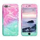 Case for iPhone XS Max XR 6s 7 8 Plus 5S Cover 360 Marble Thin Shockproof Hybrid <br/> LIBERWILL&reg; , Free Gift 1xScreen Protector, UK Fast Ship