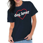 Cute Dog Lover Heart Pet Lady Animal Owner Shelter Adopt T Shirt Tee