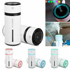 Mini Portable Car LED Humidifier Air Purifier Freshener Essential Oil Diffuser
