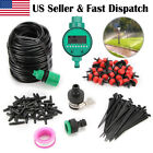 82ft Distribution Tubing Irrigation Gardener' Greenhouse Plant Watering Drip Kit