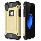 Hybrid Rugged Defender Protective Phone Case For Apple iPhone X 8 7 6 6S Plus 5S