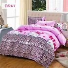 1 Pcs Superfine fibre Fashion Quality Bedding Set full Queen king Size with 4PCS