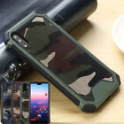 Case for Huawei P30 P20 Pro Mate 20 Lite Camo Hybrid Heavy Duty Shockproof Cover
