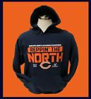 CHICAGO BEARS 2018 Division Champs Hoodie  Hooded Sweatshirt  REPPIN' THE NORTH
