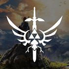 Legend Of Zelda Master Sword / Logo Vinyl Decal Sticker