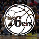 Philadelphia 76ers NBA Logo / Vinyl Decal Sticker on eBay