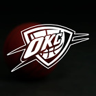 Oklahoma City Thunder NBA Logo / Vinyl Decal Sticker on eBay