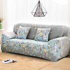 Floral Pattern Elastic Stretch Universal Sofa Covers Sectional Throw Couch Corne
