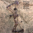 "Hoyt Nitrum 34 Right Hand Long Draw Harvest Brown 50-60LBS 30""-32"" Draw"