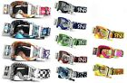 Rip N Roll RNR Platinum Motocross Enduro WVS 48MM Roll Off Goggles Loaded