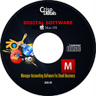 NEW 2019 Manager Professional Accounting Small Business Software Windows & MacOS