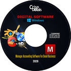 NEW 2020 Manager Professional Accounting Small Business Software Windows & MacOS