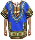 Dashiki Shirt African Unisex Hippie Blouse Top Mens Women Vintage Cloth One Size