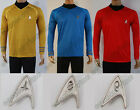 Star Trek Into Darkness Cosplay Costume Captain Kirk Spock Uniform T-Shirt Suit on eBay