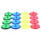 Golf Ball Markers Plastic 50 100Pack/Set Golf Accessories Plastic Mixed Colors