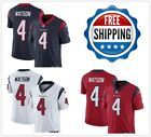 Men's #4 Deshaun Watson Houston Texans Vapor Untouchable Jersey Navy/Red/White on eBay