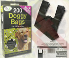 DOGGY BAGS Scented Pet Pooper Scooper Bag Dog Cat Poo Waste Toilet Poop UK SELER