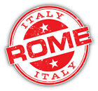 Cricut Home Decor Projects Rome Italy Grunge Travel Stamp Car Bumper Sticker Decal  -  3'' Or 5'' Designer Doors Home Decor