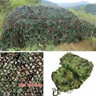 Woodland Camouflage Netting Military Camo Hunting Cover Net Backing 2 size BR