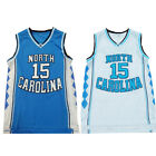 Throwback Vince Carter #15 North Carolina Tar Heels College Basketball Jersey <br/> US STOCK **2-3 Day** Delivery From CA* Premium Stitched