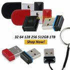 Mini Flash Drive USB Micro Pen Drive Memory Stick Backup 32 64 128 256GB 1TB US