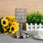 Modern Crystal Tealight Candle Lantern Cup Holders Wedding Table Home Decor