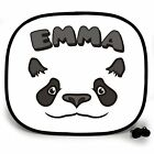 PANDA ANIMAL PERSONALISED CAR SUN SHADE Window Kids baby birthday gift present