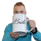 Funny Mugs - Bride - Wedding Marriage Reception Groom GIANT NOVELTY MUG