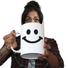 Funny Mugs - Smile Face - Gift Christmas Present GIANT NOVELTY MUG