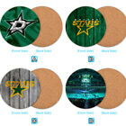 Dallas Stars Wood Coaster Coffee Cup Mat Mug Pad Table Decor $3.49 USD on eBay