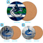Vancouver Canucks Wood Coaster Coffee Cup Mat Mug Pad Table Decor $4.69 USD on eBay
