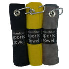 Premium Microfiber Golf Towels (3 PACK) Variety Mix Eight Color Combinations