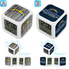 San Diego Chargers Sport Alarm Digital Clock LED Light Night Color Change $11.99 USD on eBay