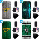 Dallas Stars Leather Case For iPhone X Xs Max Xr 7 8 Plus Galaxy S9 S8 $7.99 USD on eBay