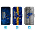 St. Louis Blues Leather Case For iPhone X Xs Max Xr 7 8 Plus Galaxy S9 S8 $7.99 USD on eBay