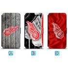 Detroit Red Wings Leather Case For iPhone X Xs Max Xr 7 8 Plus Galaxy S9 S8 $8.99 USD on eBay
