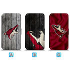 Arizona Coyotes Leather Case For iPhone X Xs Max Xr 7 8 Plus Galaxy S9 S8 $8.49 USD on eBay